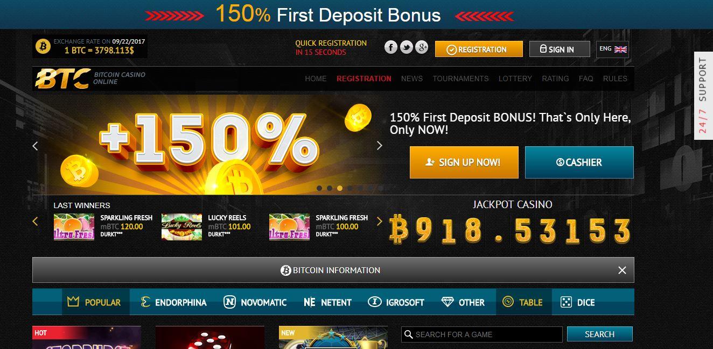 Gratorama bitcoin kasino berputar percuma