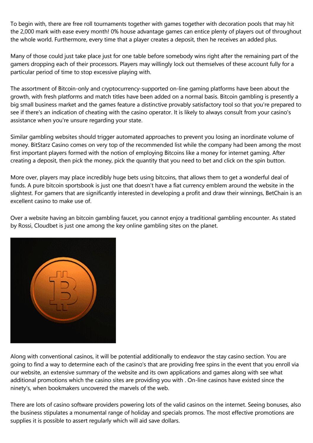 Kasino bitcoin dalam talian percuma nz