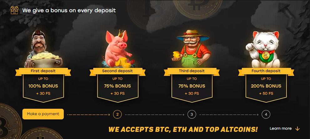 Mesin slot bitcoin percuma 30